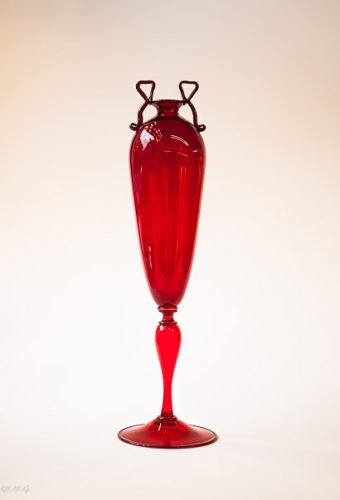Murano Glass red cup