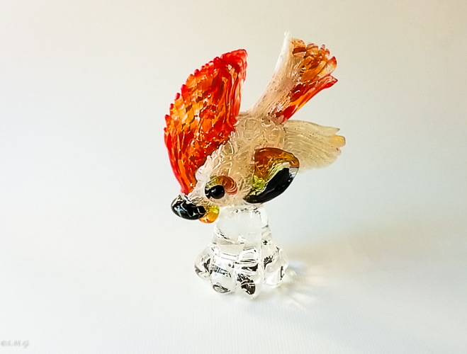 Murano Glass fish on a base