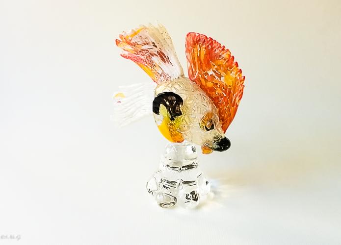 Murano Glass fish on a base