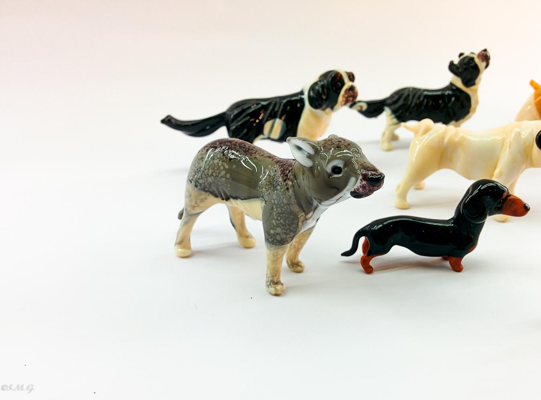 Murano Glass dogs