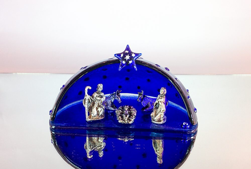 Murano Glass Nativity