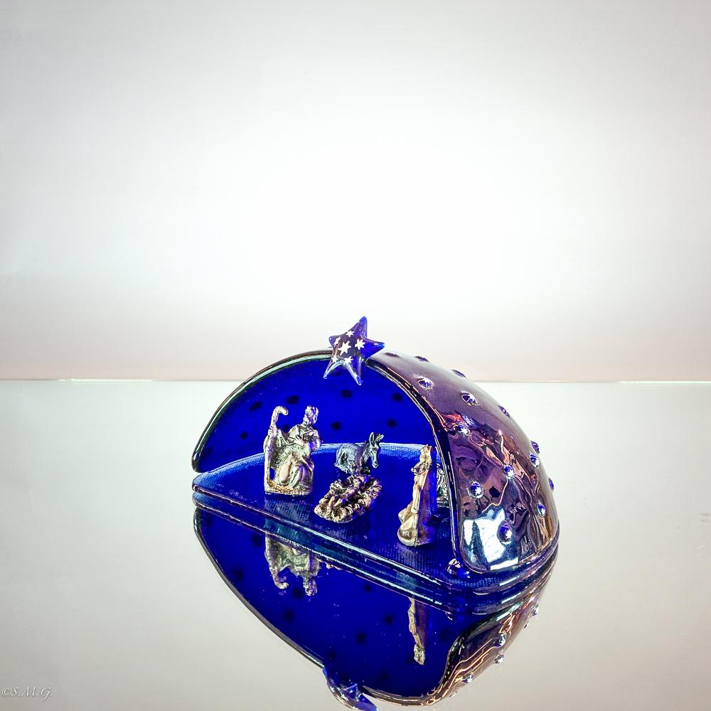 Murano Glass nativity scene