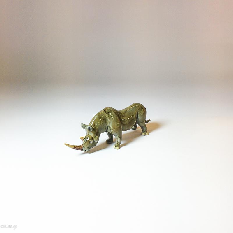 Murano Glass rhino