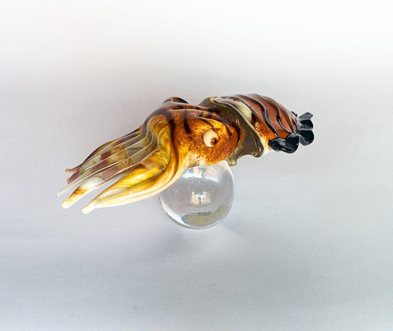 Murano glass cuttlefish