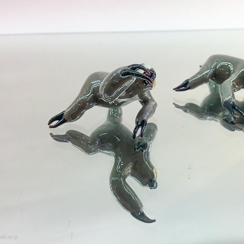 Murano Glass sloths