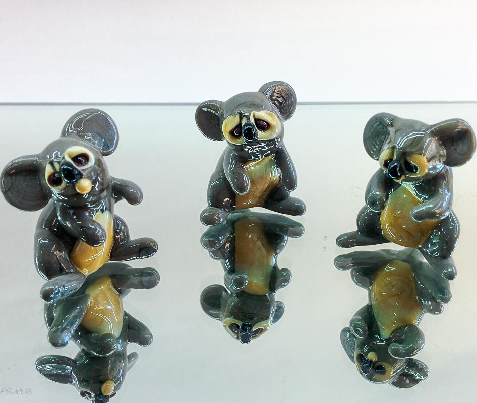 Murano Glass koalas