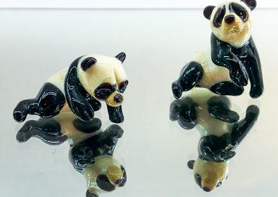 Murano Glass pandas