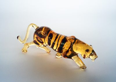 Murano Glass tiger