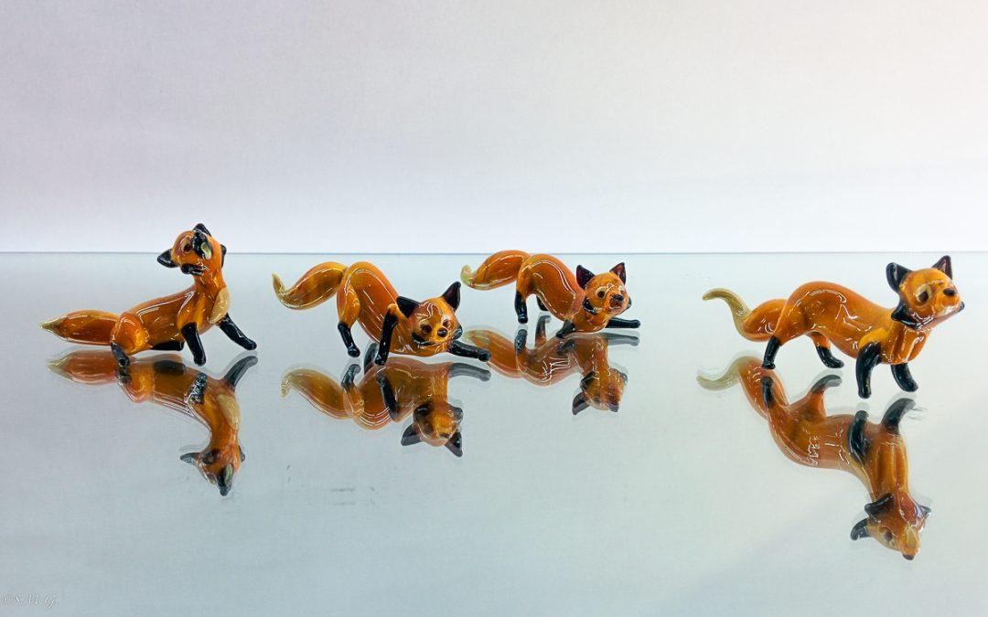Murano Glass fox