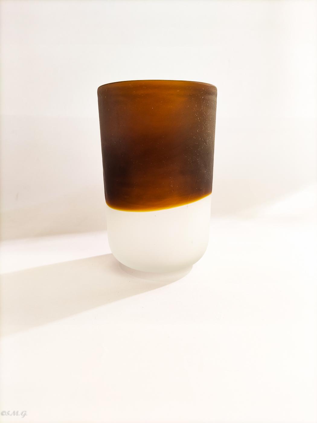 Murano Glass glazed tumbler